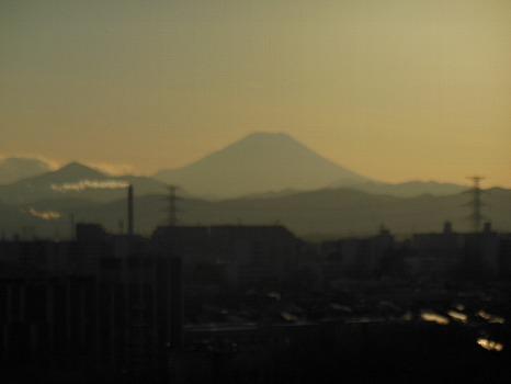 富士の冬A