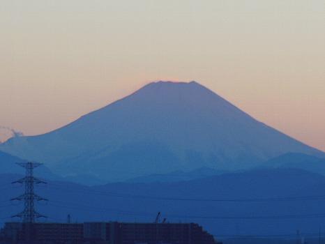 富士のシルエット拡大
