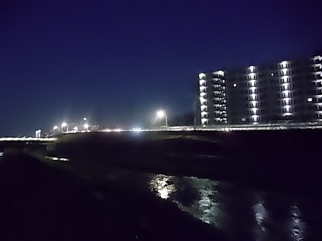 空堀川夜景