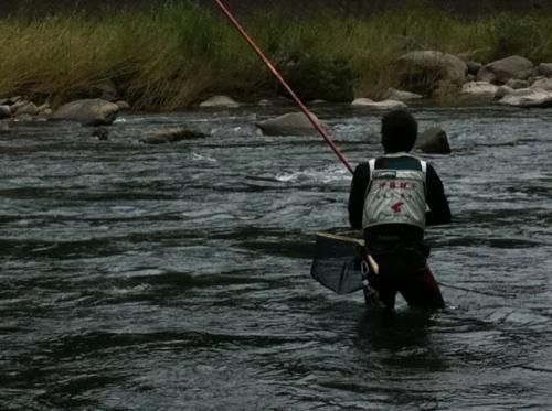 大山鮎釣り2