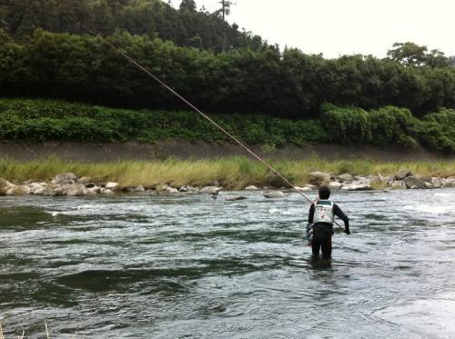 大山鮎釣り1