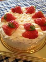私のショートケーキ♪