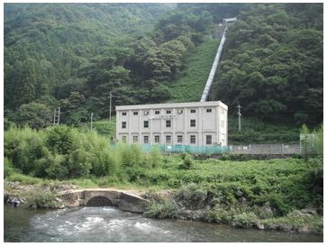 日原発電所