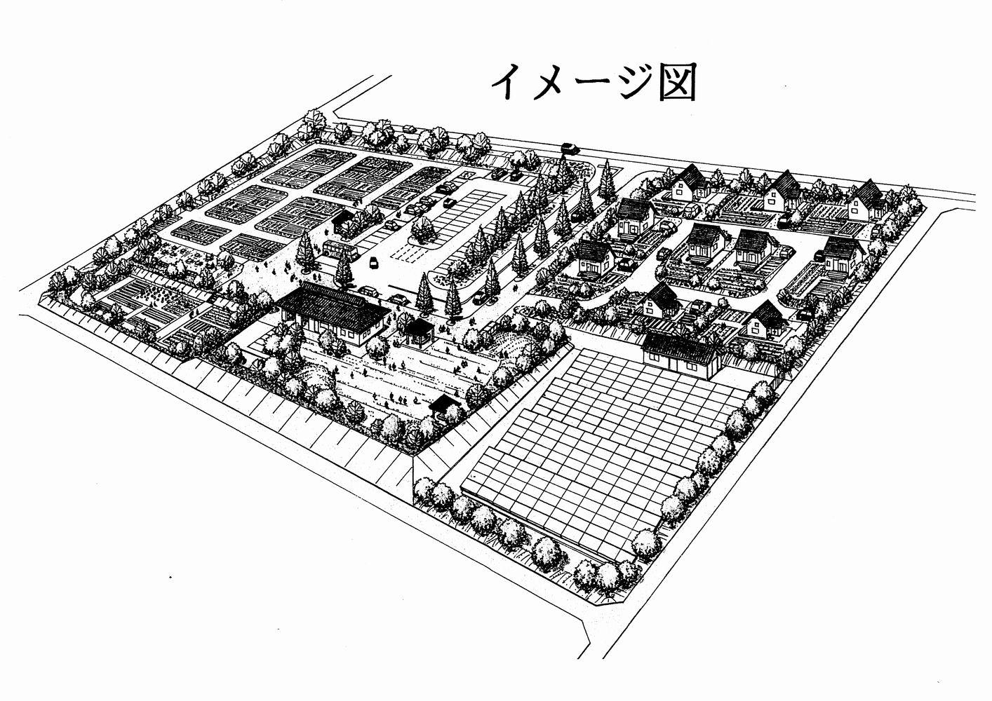 高津川クラインガルテンイメージ図