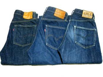 M&Y@Y 穿き込みジーンズ