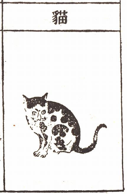 『本草綱目』の猫の図版 (C)肩こり・腰痛・頭痛・生理痛 表参道の源保堂鍼灸院