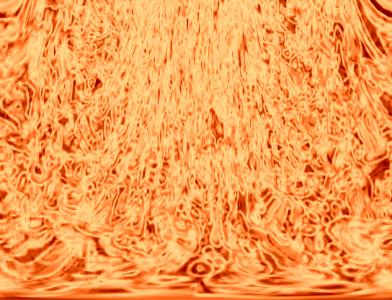 燃え滾る火柱