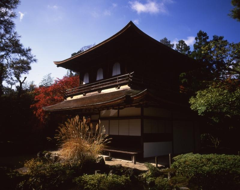 銀閣寺の紅葉4