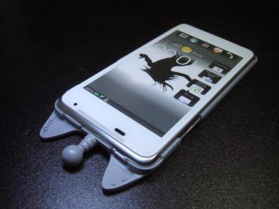 【011】au HTC ISW13HT-宇宙ネコ携帯ケース