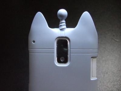 【016】au HTC ISW13HT-宇宙ネコ携帯ケース