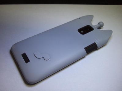 【028】au HTC ISW13HT-宇宙ネコ携帯ケース