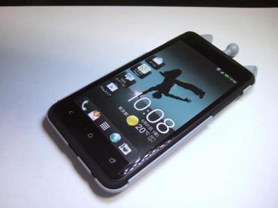 【024】au HTC ISW13HT-宇宙ネコ携帯ケース