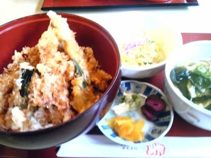 天丼セット (2)