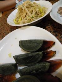 ピータンと豆もやしの和え物