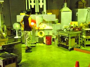 hot glass workshop