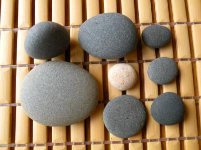 久之浜の石・泥石