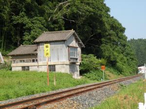 脇ノ沢駅近く