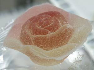 薔薇の花ゼリー
