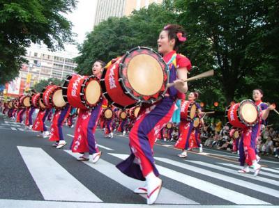 やっぱ、太鼓は人気なんだよねぇ。