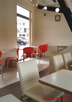 ラ・ナチュールさんのカフェにて