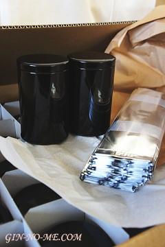パッケージのリニューアル準備 銀の芽紅茶店