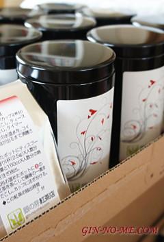 アッサムの紅茶缶 銀の芽紅茶店