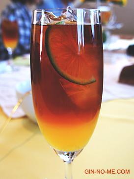 アイスセパレートティー オレンジ