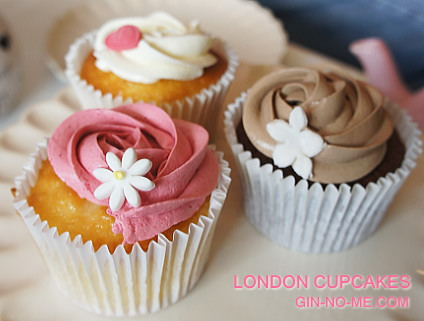 London cupcakesのカップケーキ