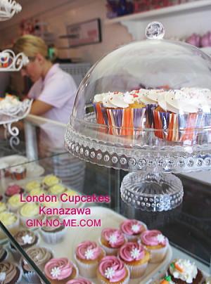 London Cupcakes店内の様子