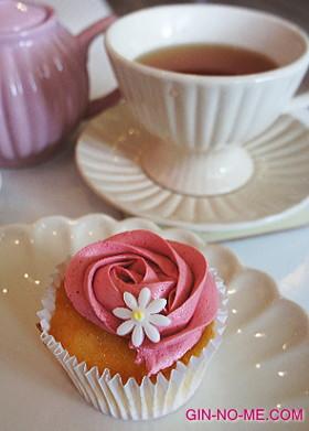 London Cupcakesでティータイム
