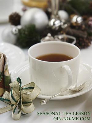 クリスマスの紅茶教室
