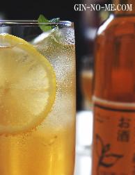 加賀の紅茶のお酒 ジンジャーエールで割って