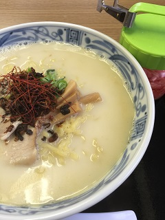 麺匠中華 いけ田 鶏白湯そば(塩味)
