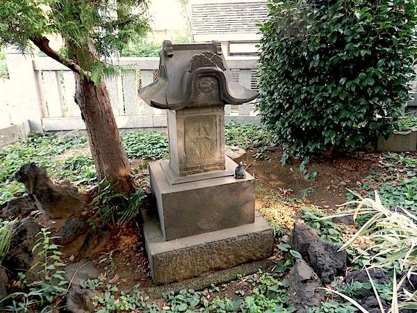 「板橋区遺跡番号147番 無名塚(御岳塚)」