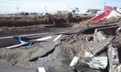 地震後茨城の状況 神栖市