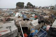 14日 北茨城市平潟港の津波被害1