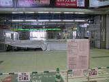 25日 水戸駅構内
