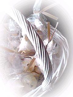 フワサク チョコ入りメレンゲ