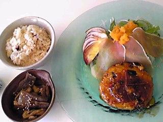 豆腐ハンバーグランチ