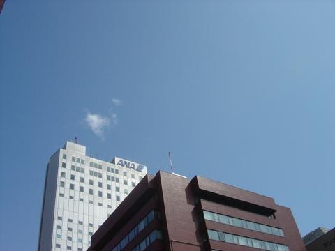 春の青空(2010.03.30)