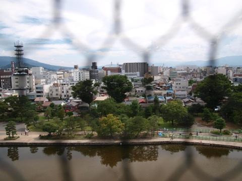 お天守から(2010.08.07)
