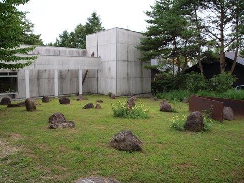 清里現代美術館の庭(2010.08.08)