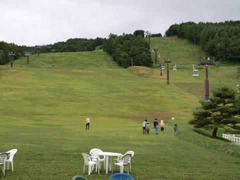 夏のスキー場(2010.08.09)