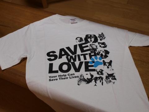 しっぽの会のTシャツ(2010.08.14)