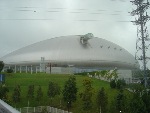 小雨の札幌ドーム(2010.09.20)