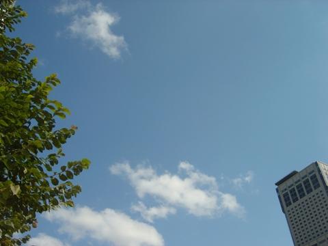 秋の晴天(2010.09.27)