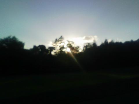 今日の夕陽(2010.09.30)