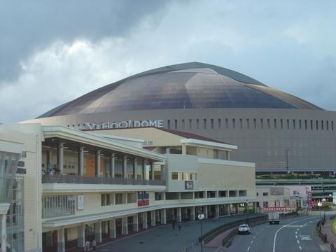 ヤフードームとホークスタウン01(2010.10.09)