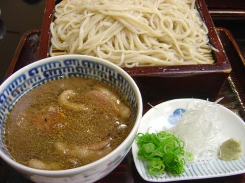 おいしい鴨せいろ(2010.10.10)