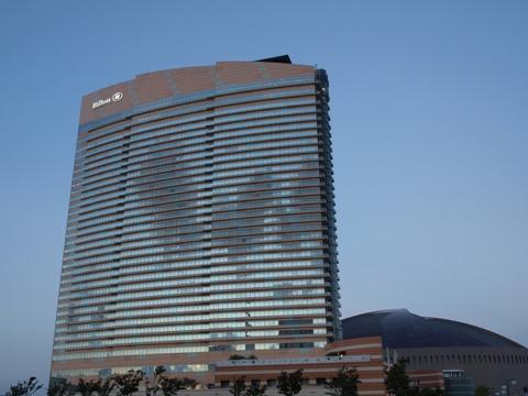 ヒルトンのホテル(2010.10.10)